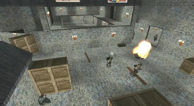 Targetpush, a new custom map for Wolfenstein: Enemy